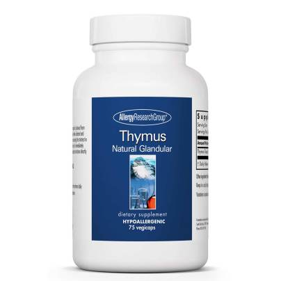Thymus Natural Glandular - Allergy Research Group