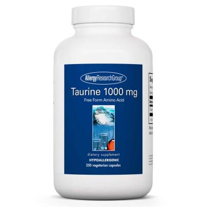 Taurine 1000mg - Allergy Research Group