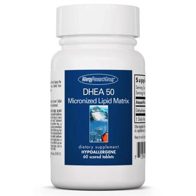 DHEA 50mg Micronized Lipid Matrix product image