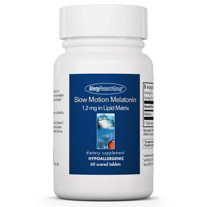 Slow Motion Melatonin - Allergy Research Group