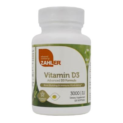 Vitamin D3 3000IU - Advanced Nutrition by Zahler