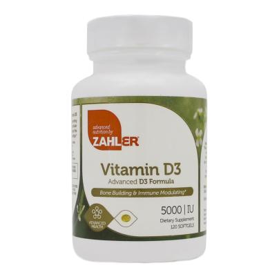Vitamin D3 5000IU - Advanced Nutrition by Zahler