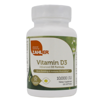 Vitamin D 10,000IU - Advanced Nutrition by Zahler