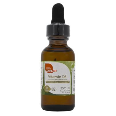 Vitamin D3 5000IU Liquid - Advanced Nutrition by Zahler