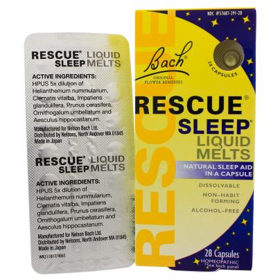 Rescue Sleep Liquid Melts product image