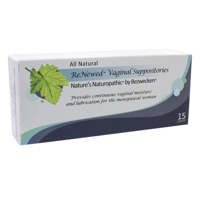 Bezwecken vaginal suppository