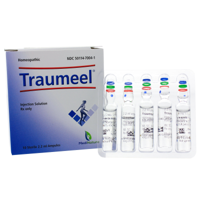 Traumeel Rx Injectables - BHI Homeopathics/Medinatura