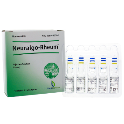 Neuralgo Rheum RX - BHI Homeopathics/Medinatura