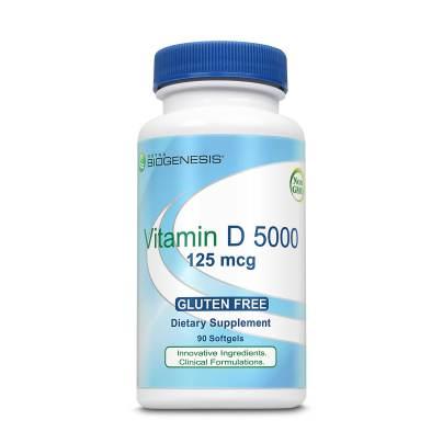 Vitamin D 5000 - Nutra BioGenesis
