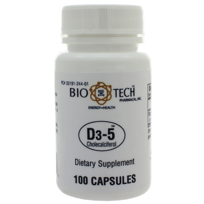 D3-5 5,000IU - Bio-Tech Pharmacal