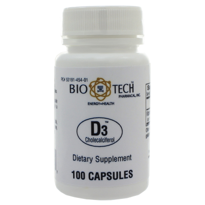 D3 1,000IU - Bio-Tech Pharmacal