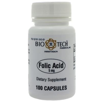 Folic Acid 5mg product image