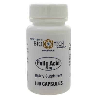 Folic Acid 20mg product image