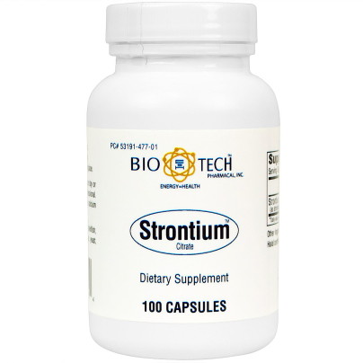 Strontium Citrate 300mg - Bio-Tech Pharmacal