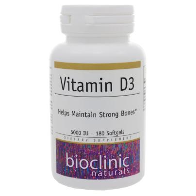 Vitamin D3 5000iu - Bioclinic Naturals