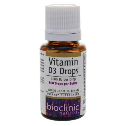 Vitamin D3 Drops - Bioclinic Naturals