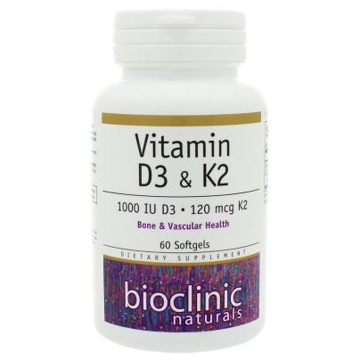 Vitamin K2 and D3 - Bioclinic Naturals