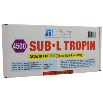 Sub L Tropin 4500 + Genetic Activator Kit - BioProtein Technology