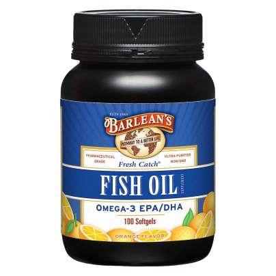 Fresh Catch Fish Oil Orange Flavor product image
