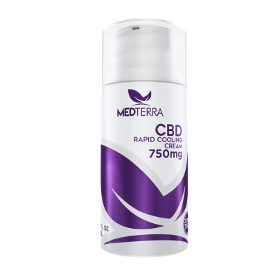 CBD Rapid Cooling Cream 750mg - Medterra LLC