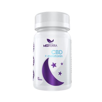 CBD + Melatonin 25mg - Medterra LLC