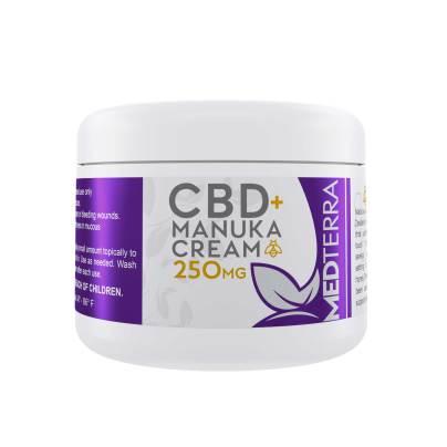 250mg CBD Manuka Honey Cream - Medterra LLC