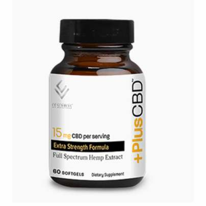 CBD Oil Softgels Gold Formula 15mg - PlusCBD Oil