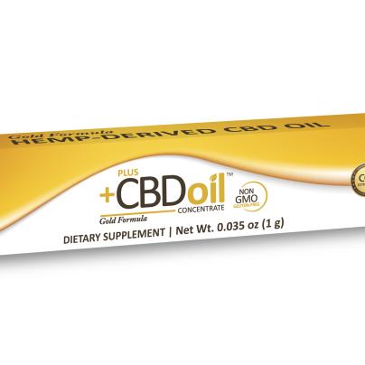 Cbd Oil Gold Formula Oral Applicator - 1g, Pluscbd Oil