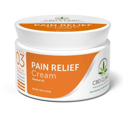 Level 3 - Pain Relief Ointment - CBD CLINIC™
