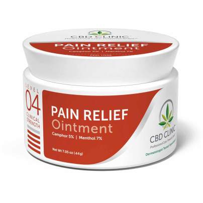 Level 4 - Pain Relief Ointment - CBD CLINIC™
