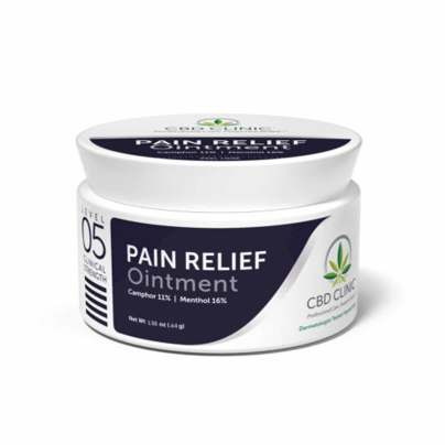 Level 5 - Pain Relief Ointment - CBD CLINIC™