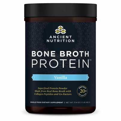 Bone Broth Protein - Vanilla - Ancient Nutrition