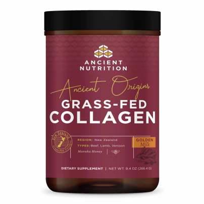 Ancient Origins Grass-Fed Collagen Golden Milk - Ancient Nutrition