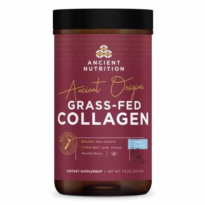 Ancient Origins Grass-Fed Collagen Honey Vanilla - Ancient Nutrition