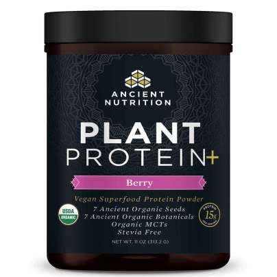 Plant Protein+ Berry - Ancient Nutrition