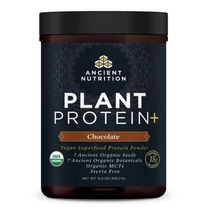 Plant Protein+ Chocolate - Ancient Nutrition