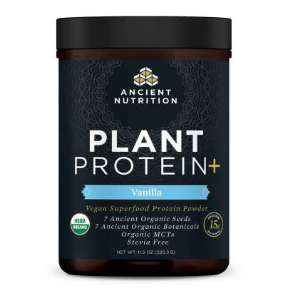 Plant Protein+ Vanilla - Ancient Nutrition