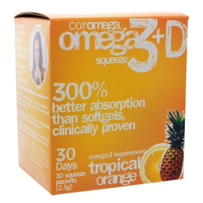 Omega-3 Squeeze Tropical Squeeze +D Packets product image