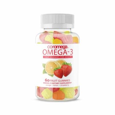 Coromega Omega-3 Fruit Gummies for Adults product image