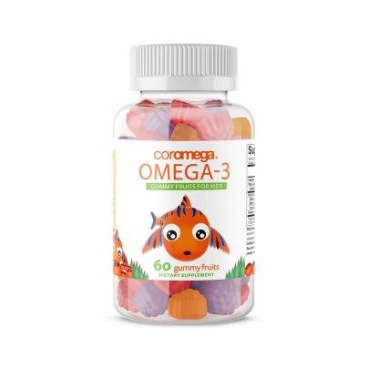 Coromega Omega-3 Gummy Fruits for Kids product image