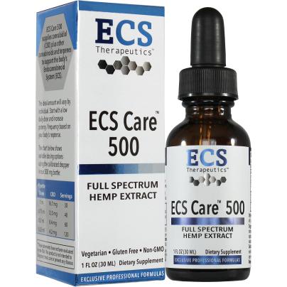 ECS Care™ 500 Liquid - ECS Therapeutics
