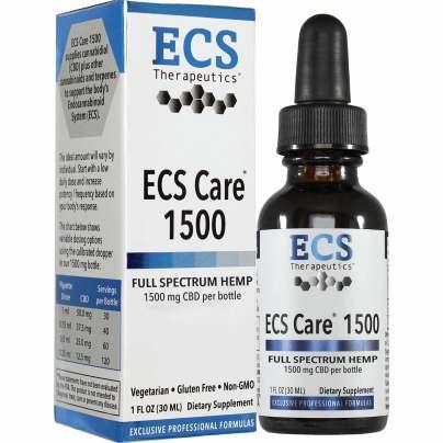 ECS Care™ 1500 Liquid - ECS Therapeutics