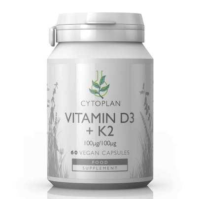 Vitamin D3 +K2 product image