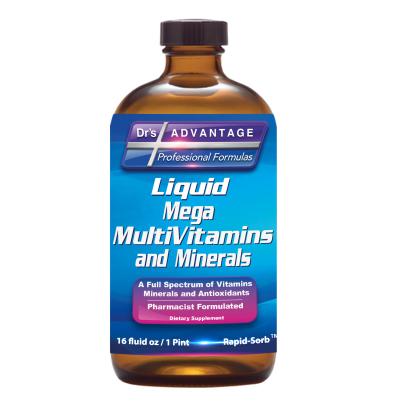 Liquid Mega MultiVitamins and Minerals product image
