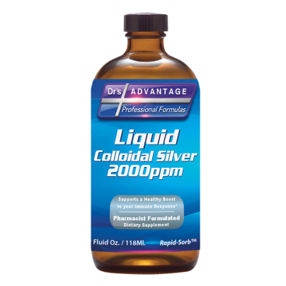 Liquid Colloidal Silver 2000ppm product image