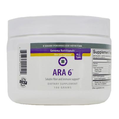 ARA 6 (Larch Arabinogalactan powder) - D'Adamo Personalized Nutrition