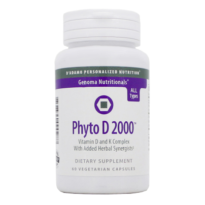 Phyto D 2000 - D'Adamo Personalized Nutrition