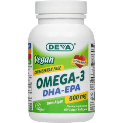 Vegan DHA-EPA 500mg product image