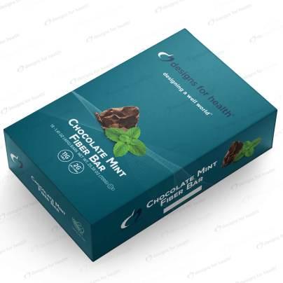 Chocolate Mint Fiber Bar - Designs for Health