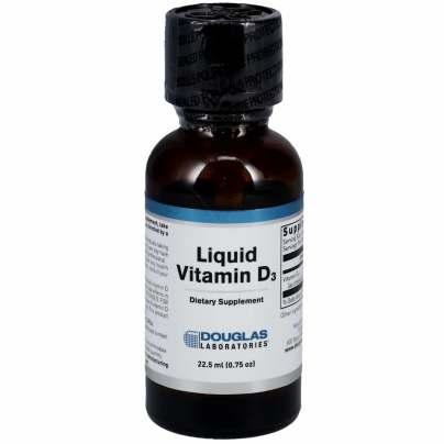 Liquid Vitamin D3 - Douglas Labs